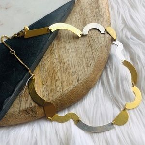 Madewell // Mixed Metals Collar Necklace